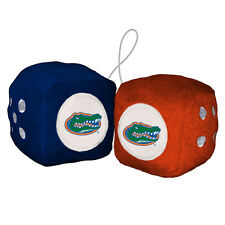 "Florida Gators 3"" Plush Fuzzy Dice"