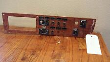 Peterbilt 379 Switch Instrument Cluster P-0601 (Missing 6 Switches)