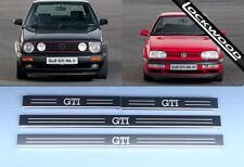 VW Golf (Mk2 Et Mk3) GTI, 4 portes Sill Protections/coup De Pied Plaques