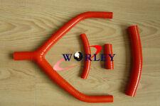 Silicone radiator hose for YAMAHA YZ250 1990 91 92 93 1994 & WR250 1991 92 1993