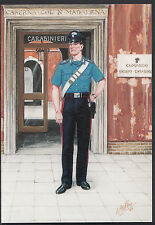 Military Postcard - Carabinier of Italy, Summer Uniform, Present Day  A6434