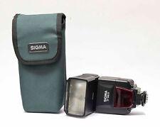 Sigma EF-500 ST Elektronic Flash/ Blitzgerät für Canon mit Tasche Nr.801