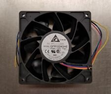*NEW* DC BRUSHLESS QFR1224GHE-TYMT, 24V 1.41A Delta Electronics FAN 4-Wire *NEW*