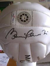 SIR BOBBY CHARLTON SIGNED FOOTBALL