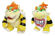 "Little Buddy Super Mario 1423 10"" Bowser & 1424 Bowser Jr. Plush Set Super Mario"