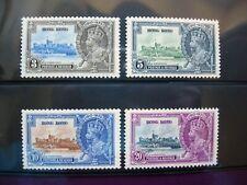 HONG KONG 1935 KING GEORGE SILVER JUBILEE SET MINT HINGED
