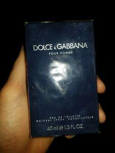 DOLCE & GABBANA POUR HOMME EAU DE TOILETTE 40ML vintage old formula