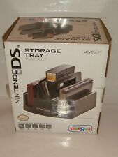 LEVEL UP NINTENDO DS STORAGE TRAY NEW IN BOX HOLDS 20 GAME CARDS 2 HANDHELDS