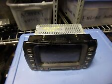 JAGUAR XJ8 VANDEN PLAS 2004-05-06-2009 GPS NAVIGATION SYSTEM SCREEN 2W9310E889AE