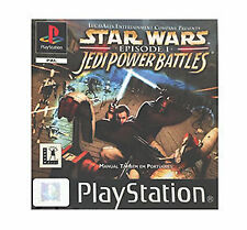 Star Wars Episode I: Jedi Power Battles (Sony PlayStation 1, 2000) - European Version