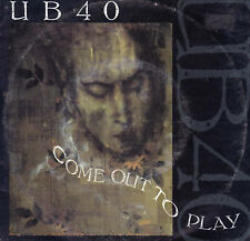 UB40 Come Out To Play / Contaminated Minds 45