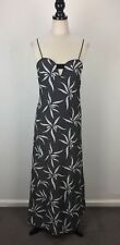 Witchery Size 16 Women's Party/Cocktail Casual Maxi Dress Stripes Black White