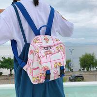Animal Sailor Moon Backpack Cartoon Shoulder Bag School Bookbag Laptop Girls New