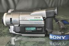 Sony DCR-TRV210E PAL video8 HI8 digital8 Firewire DVout Handycam Zubehörpaket