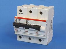 ABB S283-UX K2A 3- Pole Circuit Breaker