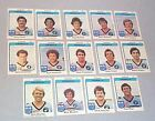 1980 CRONULLA SHARKS SCANLENS RUGBY LEAGUE CARDS