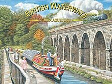 More details for british waterways chirk aquaduct large steel sign 400mm x 300mm (og) reduced!!
