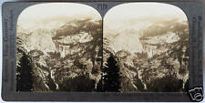 Keystone Stereoview of the SIERRAS, Yosimite Natl Park, CA from 1930's T600 Set