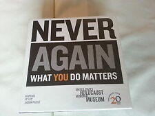 Never Again What You Do Matters 60 Pc US Holocaust Memorial Museum Puzzle New