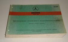 Catalogo Ricambi Mercedes Benz Unimog Tipo 416 Uscita a Telaio Stand 07/1967