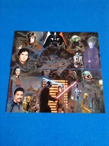 TOPPS STAR WARS GALAXY ETCHED FOIL CARDS SERIES 5, 1-6