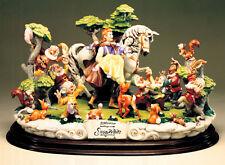 Capodimonte Snow White Prince  7 Dwarfs &  Friends 50th Anniversary