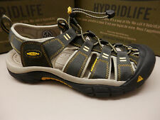 KEEN Newport H2 Men US 10.5 Gray Sport Sandal Pre Owned 1879