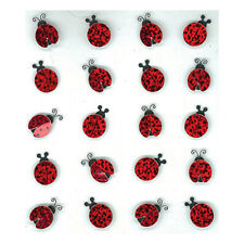 Lady Bugs Repeats Ladybugs Insects Red Jolee's 3D Sticker