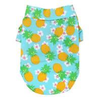 Doggie Design Hawaiian Camp Dog Shirt - Pineapple Luau Sizes XXS-2XL