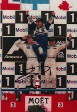 David Coulthard Hand Signed 12x8 Photo - McLaren Mercedes F1 Autograph 1.