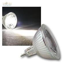 10 x COB MR16 Glas Leuchtmittel kaltweiß 250lm Strahler Birne Spot Lampe 12V 3W