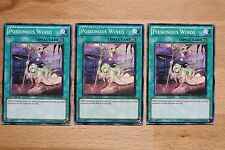 3 x Poisonous Winds PHSW-EN062 Common Playset Yugioh Card