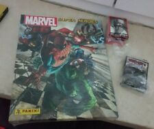 Sticker Album Marvel SUPER HEROES INFINITY 1/1.000 copie + set completo figurine