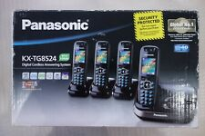 Panasonic KX-TG8524 Digital Cordless Answering System 4 Handsets with Docks NEW