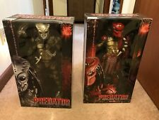 """LARGE NECA BIG RED PREDATOR and GORT 1/4 Scale 18"""" inch movie action figures"""