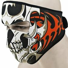 Mask Ski Bike US Neoprene Headwear Skull Half Warm Cycling Face Motorcycle Snow