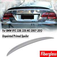 Fits For 2007-2013 BMW E92 Coupe 328i 335i M3 Style Rear Trunk Spoiler Lip Wing