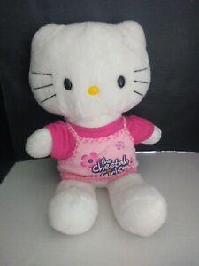 "BABW / Build a Bear Workshop HELLO KITTY 16"" Plush Stuffed Animal Cheetah Girl!"