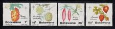 BOTSWANA Fruits & Cucumbers CHRISTMAS 1985 MNH set