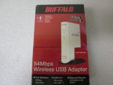 Buffalo Wireless USB Adapter 54 Mbps WLI2-USB2-G54 Airstation AOSS - New/Sealed