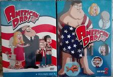 American Dad. Stagione 1 e Stagione 2 (2005) 2 DVD Nuovo Sigillato