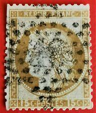 Timbre de France classique Cérès n°55(TB 893-1) Oblitér. Etoile de Paris