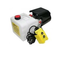 Flowfit 12V DC Single Acting Hydraulic Power pack with 4.5L Tank ZZ003468