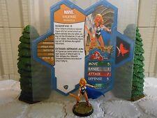 Heroscape Custom Valkyrie Double Sided Card and Figure w/ Sleeve Marvel