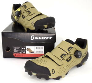Scott MTB Team Boa Mountain Bike Shoes Beige/Black Men's Size 10 US / 44 EU