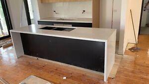 Carrara White Benchtop  Kitchen Tops BBQ Stone Countertops Quantum Caesar Stone