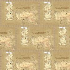 "Game of Thrones-Map of Westros-Beige, Tan & Brown Print-13"" x 43"" Remnant"