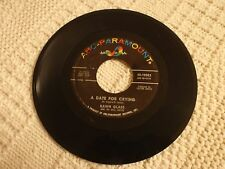 TEEN  DAWN GLASS  A DATE FOR CRYING/THAT SAME OLD FEELING ABC PARAMOUNT 10582
