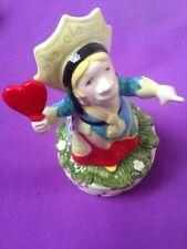 SCHMID Alice In Wonderland QUEEN OF HEARTS China Musical Box