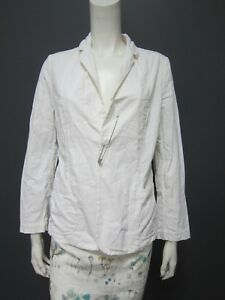 . DANIELA GREGIS 100 % cotton jacket  NEW safety pin to close (button holes)